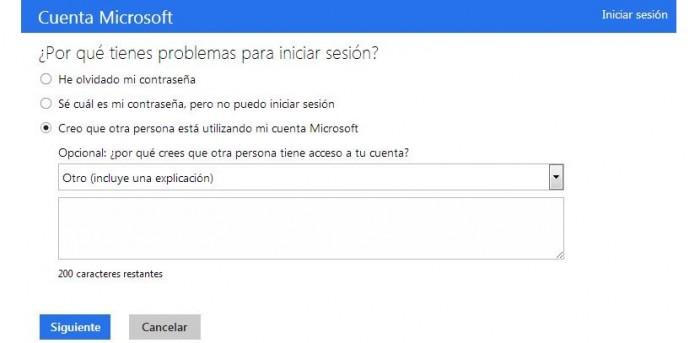 Como obtener ayuda de Hotmail