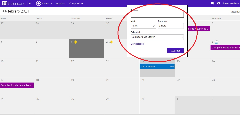 calendario-en-hotmail