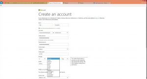 Cuenta Microsoft en Hotmail